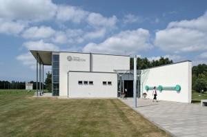 Besucherzentrum des Senders in Grimeton.