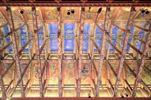 Die Decke des Ratssaales im stockholmer stadshus.