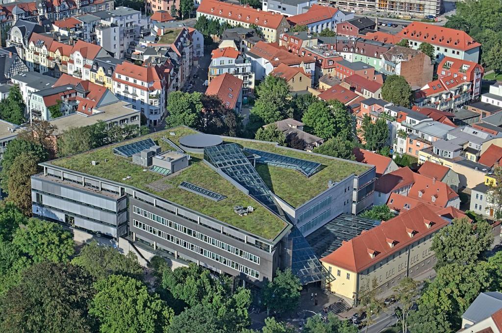 Die Thüringer Universitäts- und Landesbibliothek in Jena.
