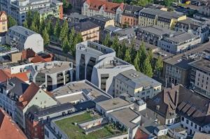 Neubau des Sonnenhofs in der Jenaer Innenstadt.
