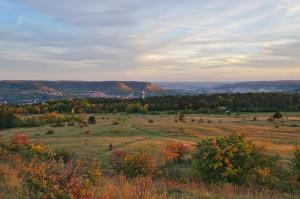 Blick vom Napoleonstein auf Jena