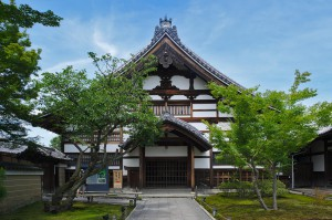 Haupthalle des Kodaiji-Tempels in Kyoto.