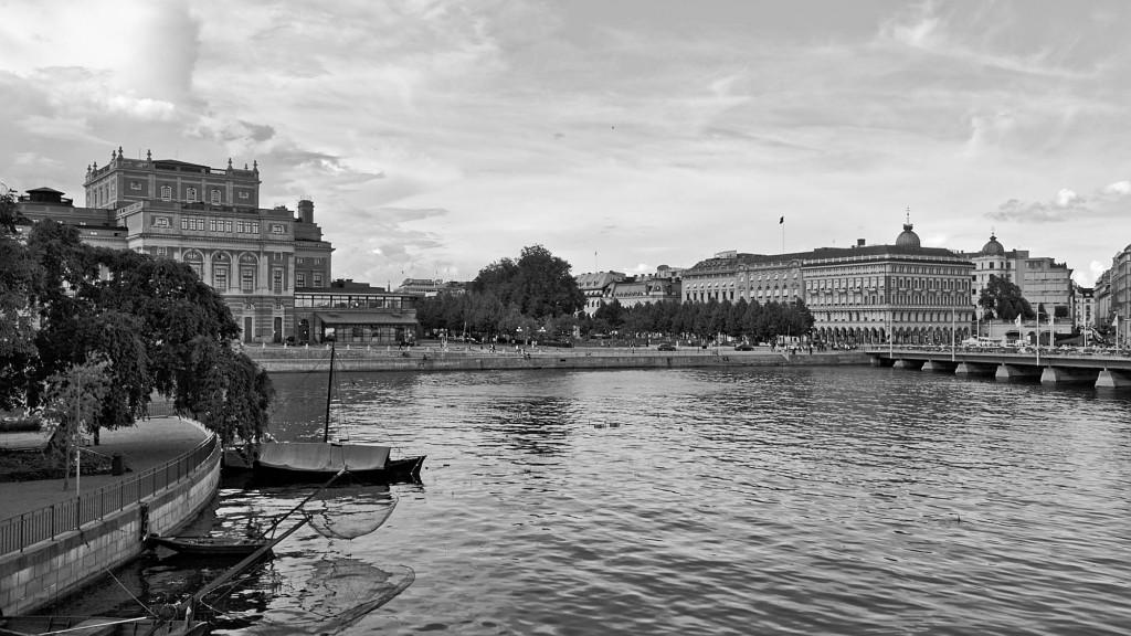 See mit dem Stockholmer Opernhaus links im Hintergrund.