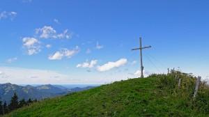 Gipfelkreuz auf dem Setzberg (1706m)