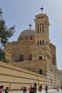 Die grichisch-orthodoxe Kirche St. Georg in Kairo