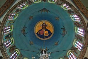 Deckengemälde der grichisch-orthodoxen St. Georgs-Kirche