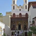 Innenhof der koptischen Hängenden Kirche in Kairo.