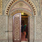 Portal zum Innenraum der Hängenden Kirche in Kairo.