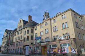 Ehemaliger Ballsaal und Veranstaltungsgebäude in Chemnitz, Zwickauer Straße 152