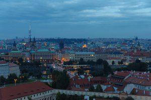 Ausblick von der Prager Burg auf die Altstadt.
