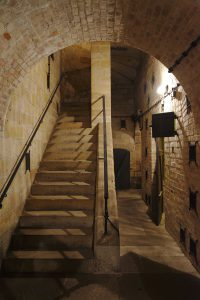 Eine unterirdische Anlage zur Munitionsverarbeitung auf der Festung Königstein.