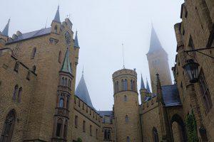 Innenhof der Burg Hohenzollern.