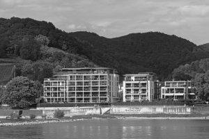 Rhöndorf am Rhein, dem ehemaligen Wohnort von Konrad Adenauer.