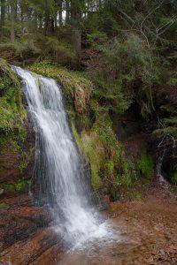 Eine kleinere Vorstufe vom Sankenbach-Wasserfall.